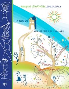 Visuel rapport d'activites 2012-2013
